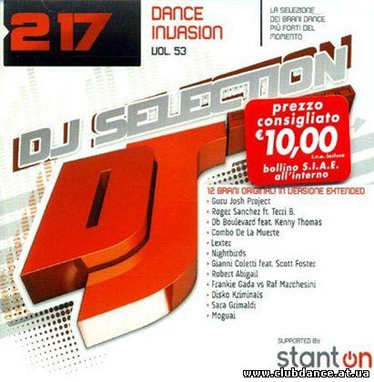 DJ Selection 217 Dance Invasion Vol.53 (2008)