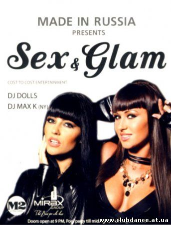 VA-Sex & Glam (Mixed by dj Max K (NY) & dj Dolls) (2009)